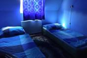 Panorámás tóra néző kétágyas szoba