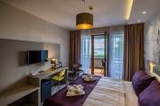 Premium panorámás erkélyes kétágyas szoba