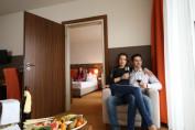 Összenyitható családi szoba