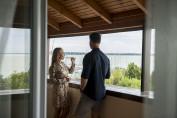 Superior, Balatonra néző kétágyas szoba erkéllyel