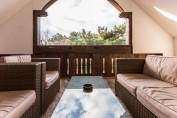 2 hálószobás lakosztály terasszal - tetőtér