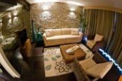 Premium Suite (két hálószobás+nappali, szauna, 3 légterű lakosztály)